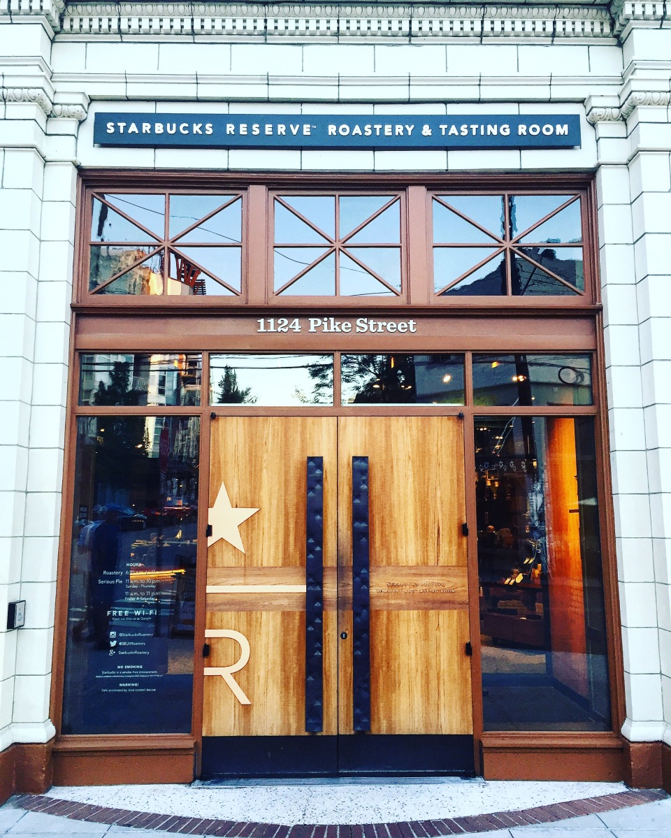 Starbucks Roastery & Tasting Room Or There is Always Something New to Discover
